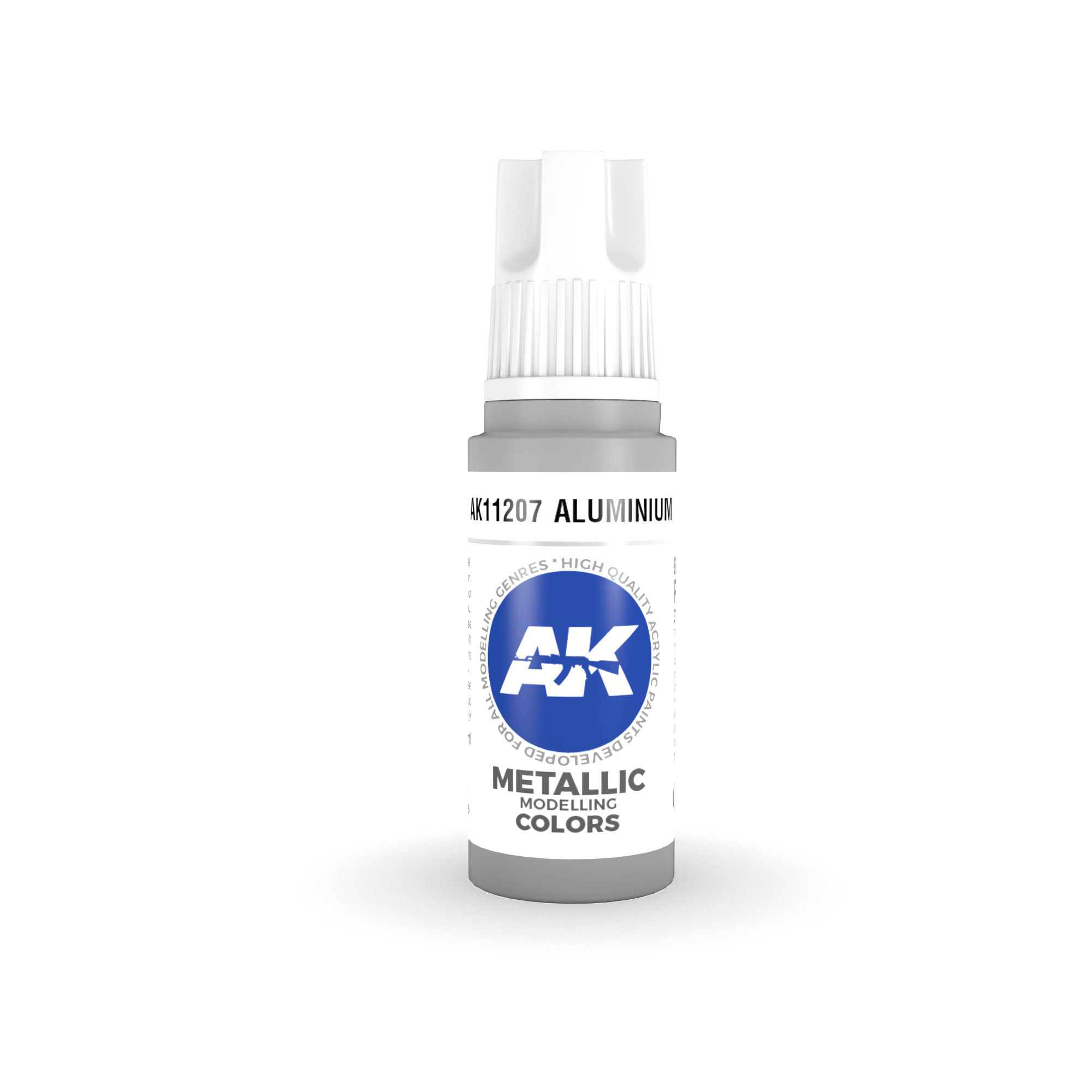 AK-Interactive Aluminium Acrylic Modelling Color - 17ml - AK-11207