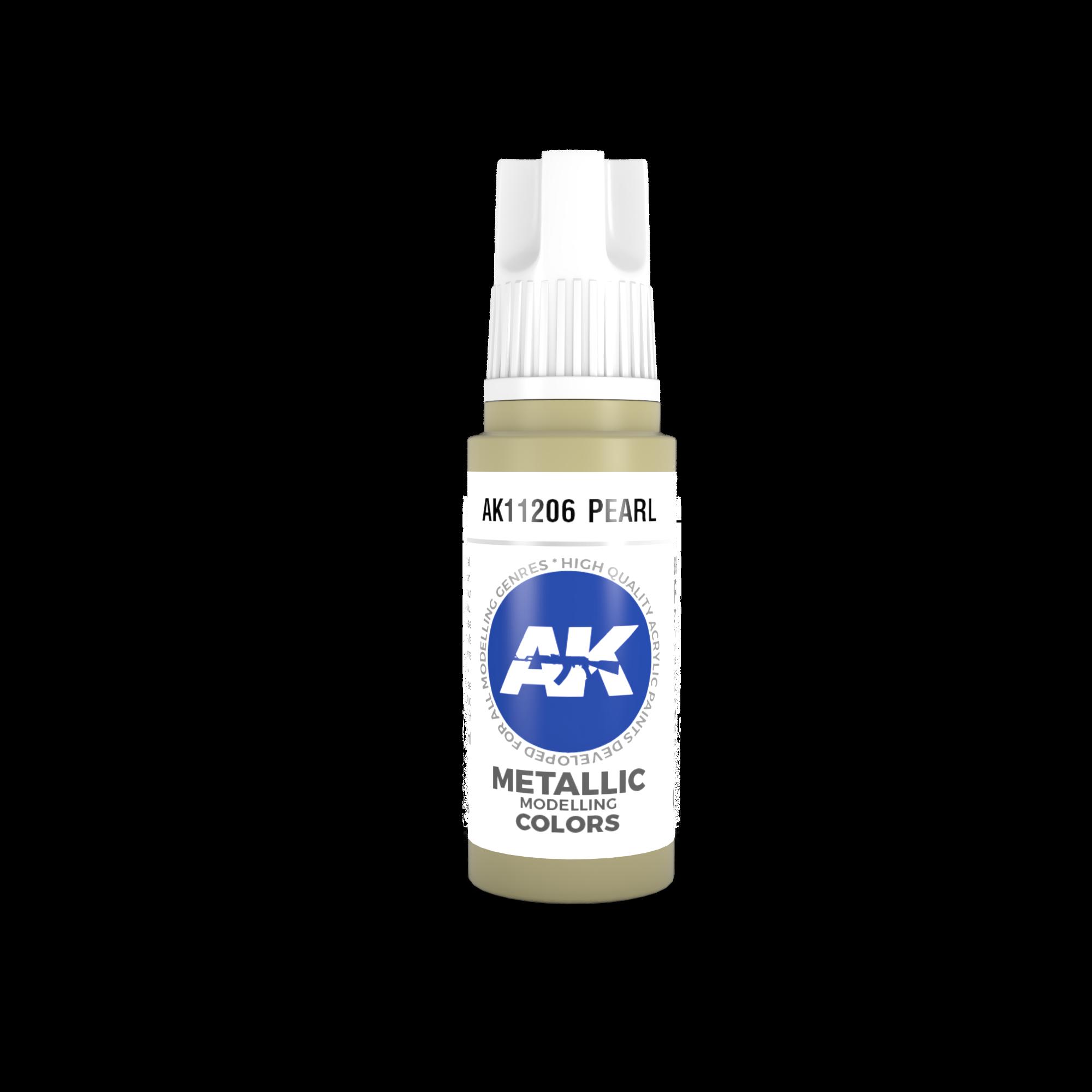 AK-Interactive Pearl Acrylic Modelling Color - 17ml - AK-11206