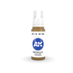 Bronze Acrylic Modelling Color - 17ml - AK-11196