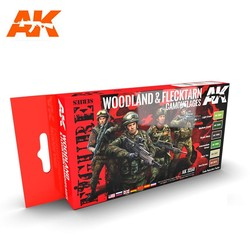 Woodland And Flecktarn Modern Camouflages - AK-3250