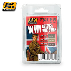 WWI British Uniforms Set - AK-3080