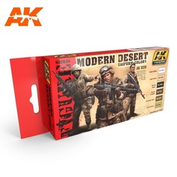 Modern Desert Uniform Colors - AK-3220