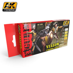 Yellow Uniform Colors - AK-3190