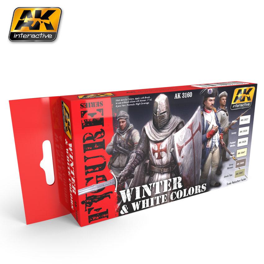 AK-Interactive White And Winter Color s- AK-3160