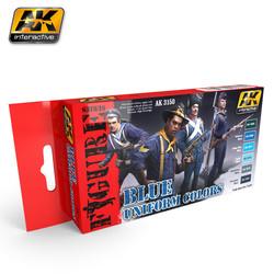 Blue Uniform Colors - AK-3150