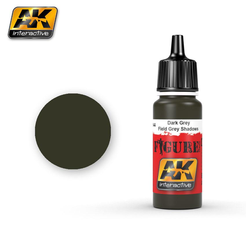 AK-Interactive Field Grey Shadows - 17ml - AK-3144