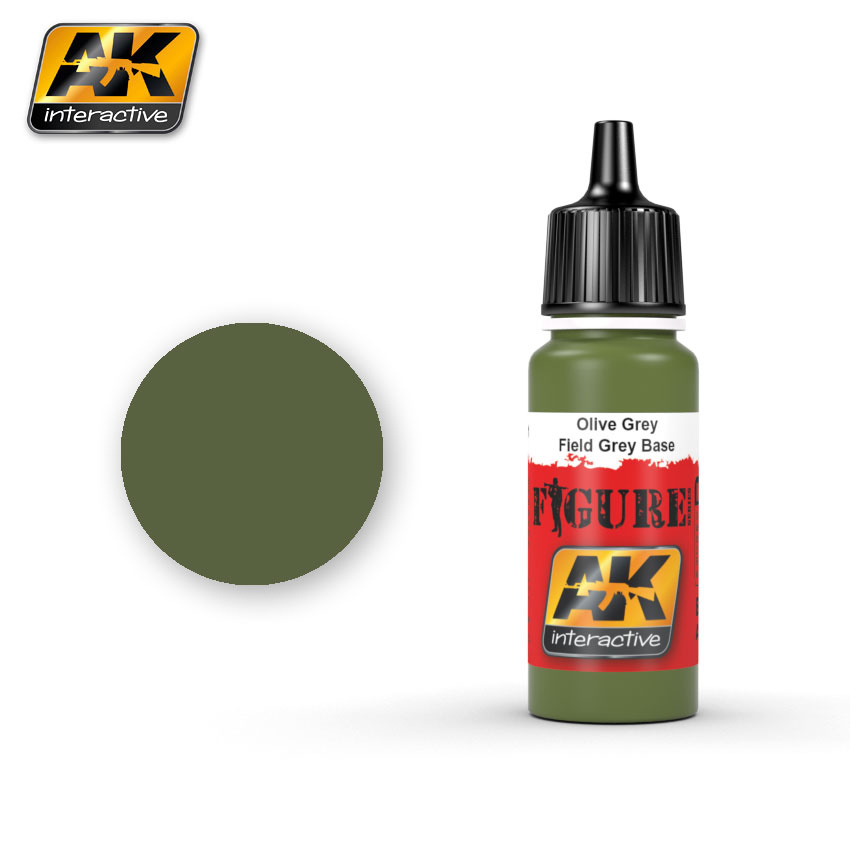 AK-Interactive Field Grey Base 1 - 17ml - AK-3141