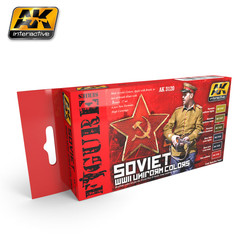 Soviet WWII Uniform Colors - AK-3120