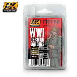 WWI German Uniforms - AK-3090