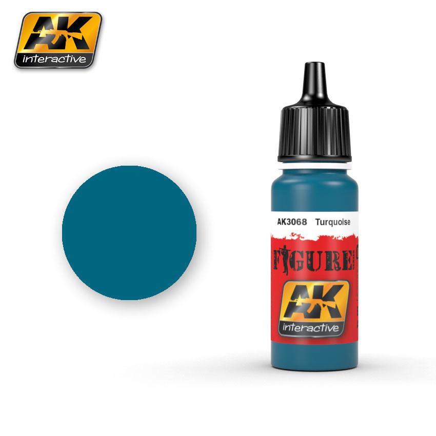 AK-Interactive Turquoise - 17ml - AK-3068