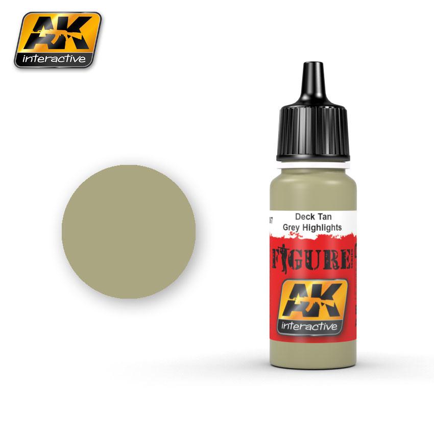 AK-Interactive Deck Tan / Grey Highlights - 17ml - AK-3067