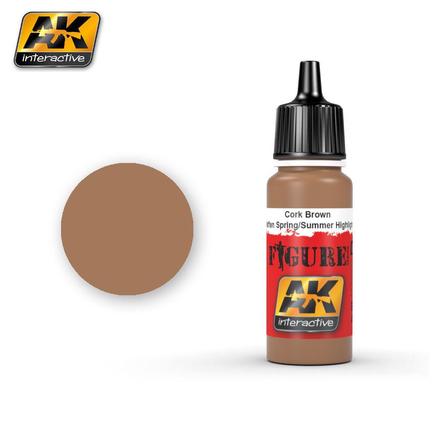 AK-Interactive Cork Brown Waffen Spring / Summer Highlight - 17ml - AK-3062