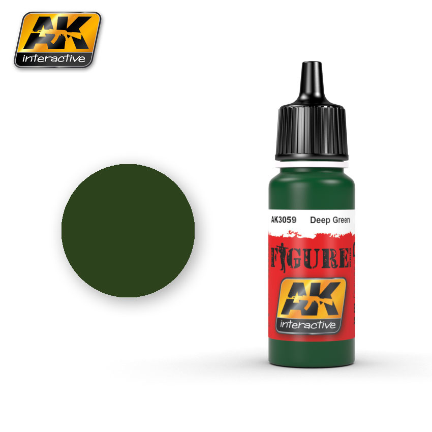 AK-Interactive Deep Green - 17ml - AK-3059