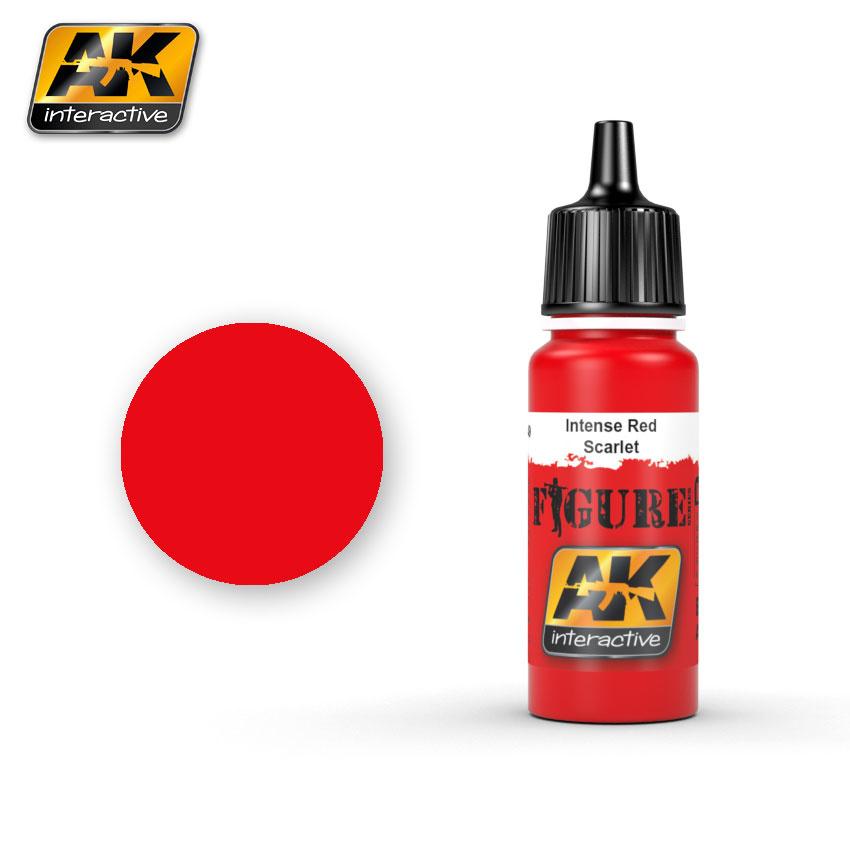 AK-Interactive Intense Red / Scarlet - 17ml - AK-3049