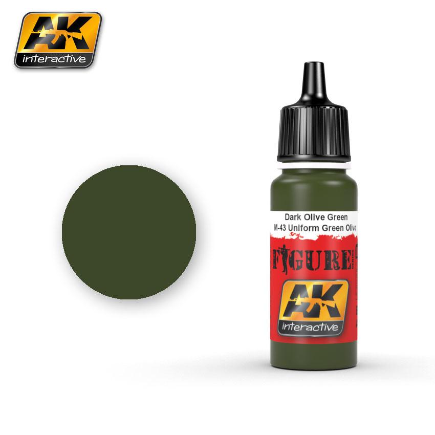 AK-Interactive Bronze Green / Splittermuster Green Spots - 17ml - AK-3043