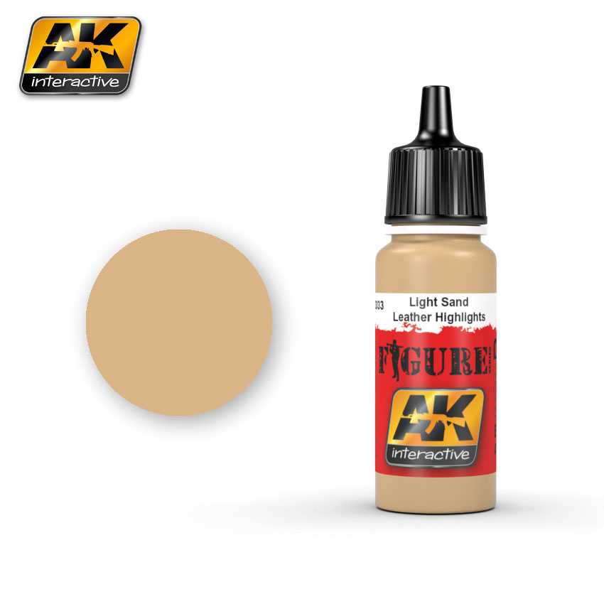 AK-Interactive Light Sand / Leather Highlights - 17ml - AK-3033