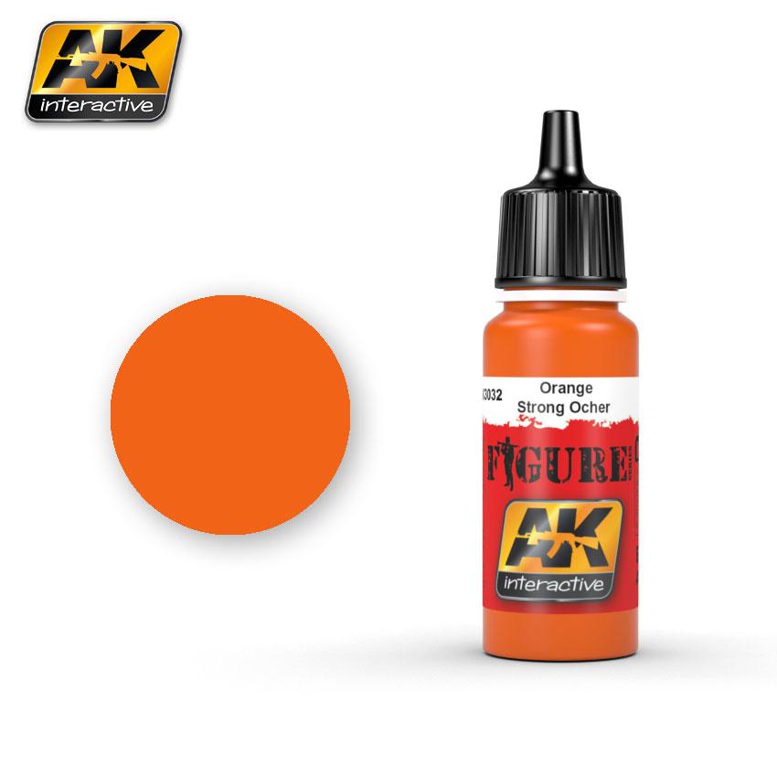 AK-Interactive Orange / Strong Ocher - 17ml - AK-3032