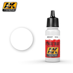 White - 17ml - AK-3027