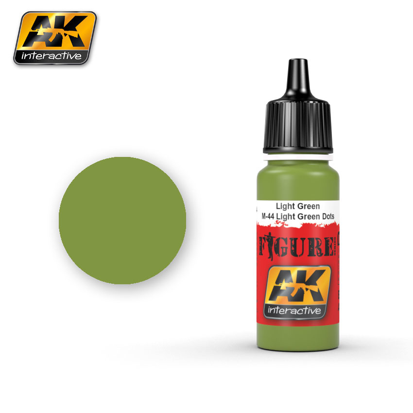 AK-Interactive Light Green / M-44 Light Green Dots - 17ml - AK-3024
