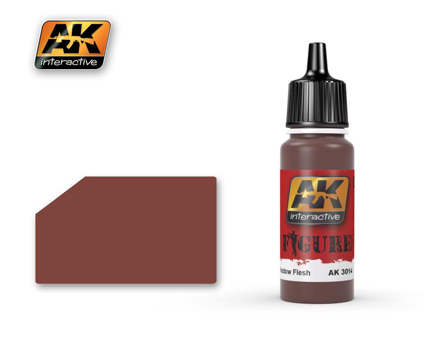 AK-Interactive Shadow Flesh - 17ml - AK-3014