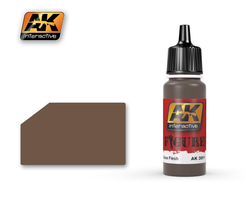 AK-Interactive Base Flesh - 17ml - AK-3011