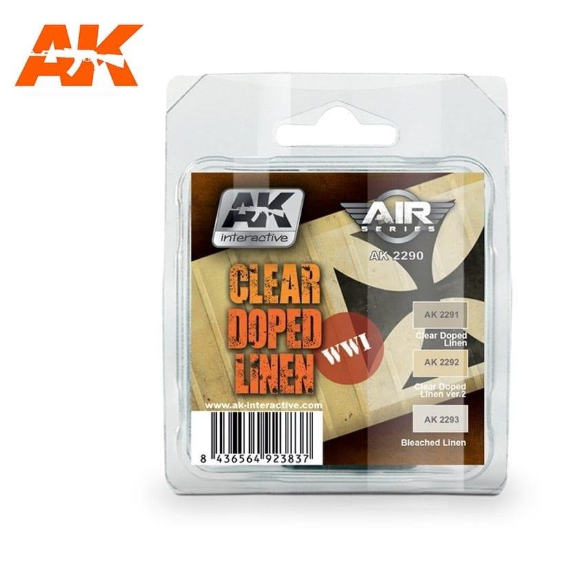 AK-Interactive Clear Doped Linen Set - AK-2290