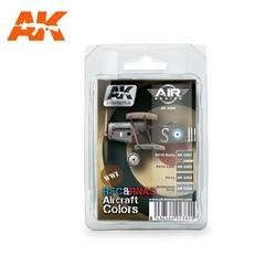 Rfc&Rnas Aircraft Colors Set - AK-2280