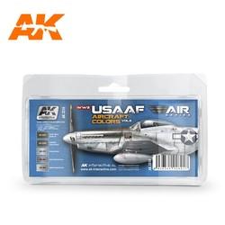 WWII Usaaf Aircraft Colors Vol 2 Set - AK-2210