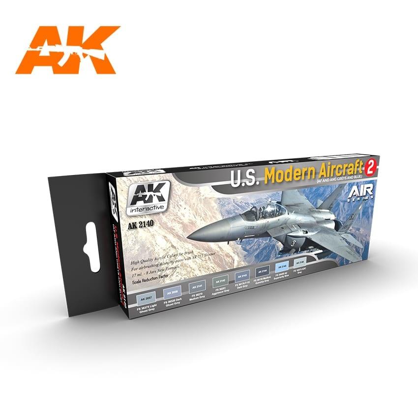 AK-Interactive U.S. Modern Aircraft 2 Set - AK-2140