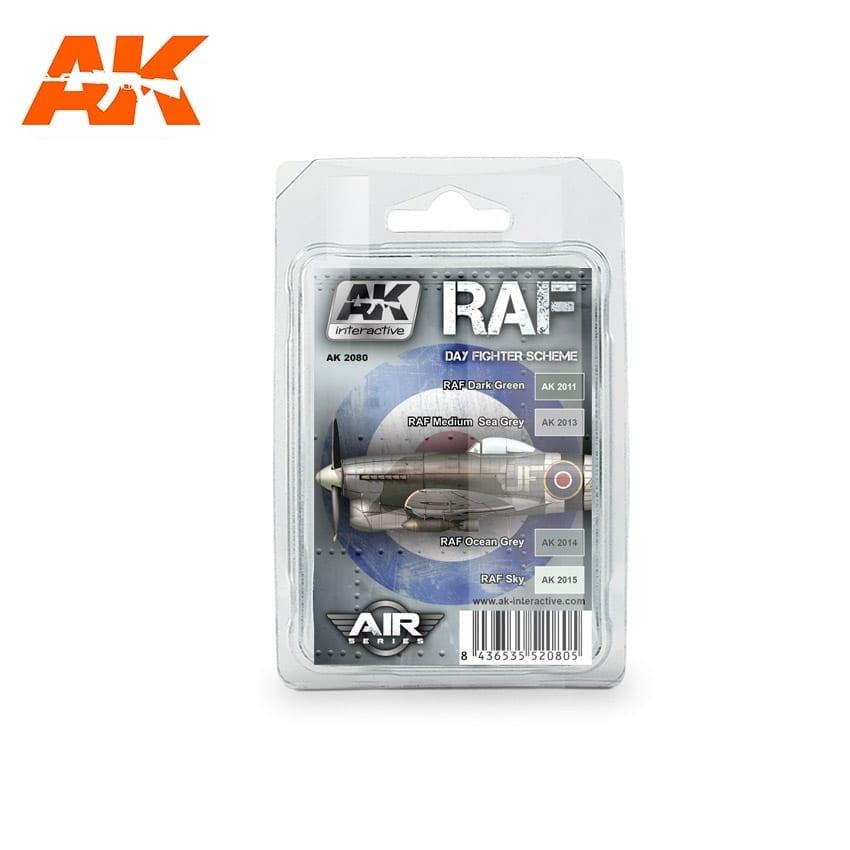 AK-Interactive Raf Day Figther Scheme Set - AK-2080