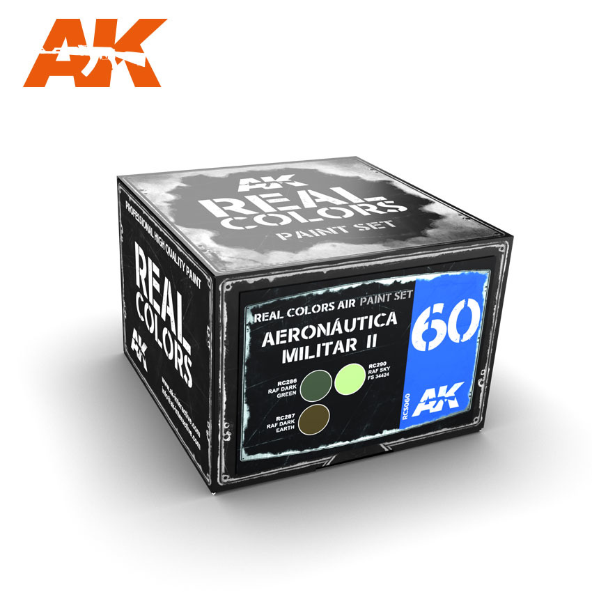 AK-Interactive Aeronautica Militar II - RCS060