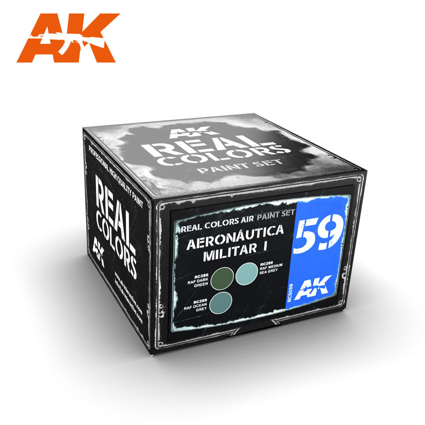 AK-Interactive Aeronutica Militar I - RCS059