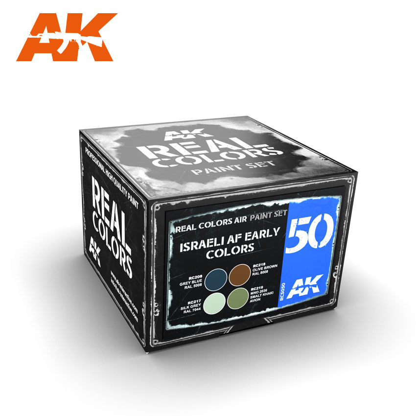 AK-Interactive Israeli Af Early Colors - RCS050