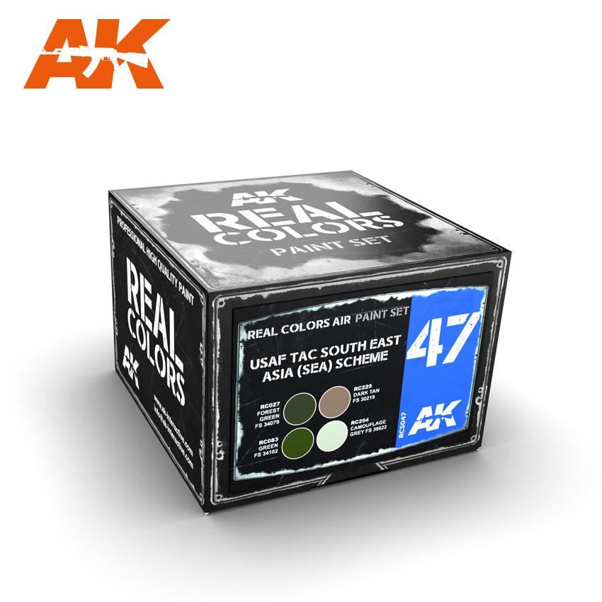 AK-Interactive Usaf Tac South East Asia (Sea) Scheme - RCS047