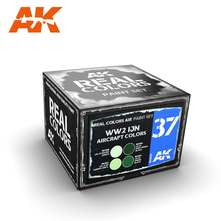 AK-Interactive WWII IJN AircRAFt Colors - RCS037