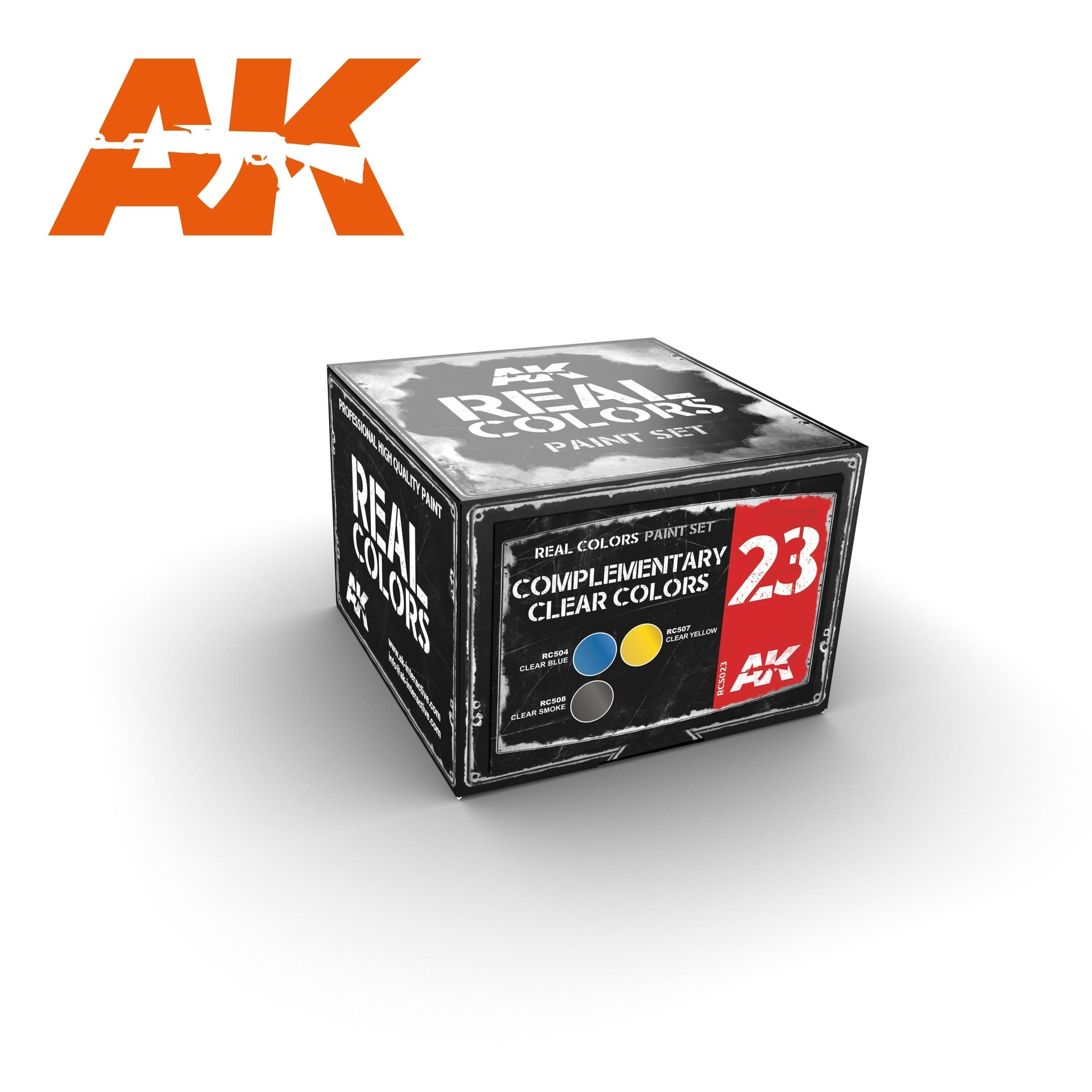 AK-Interactive Complementary Clear Colors - RCS023