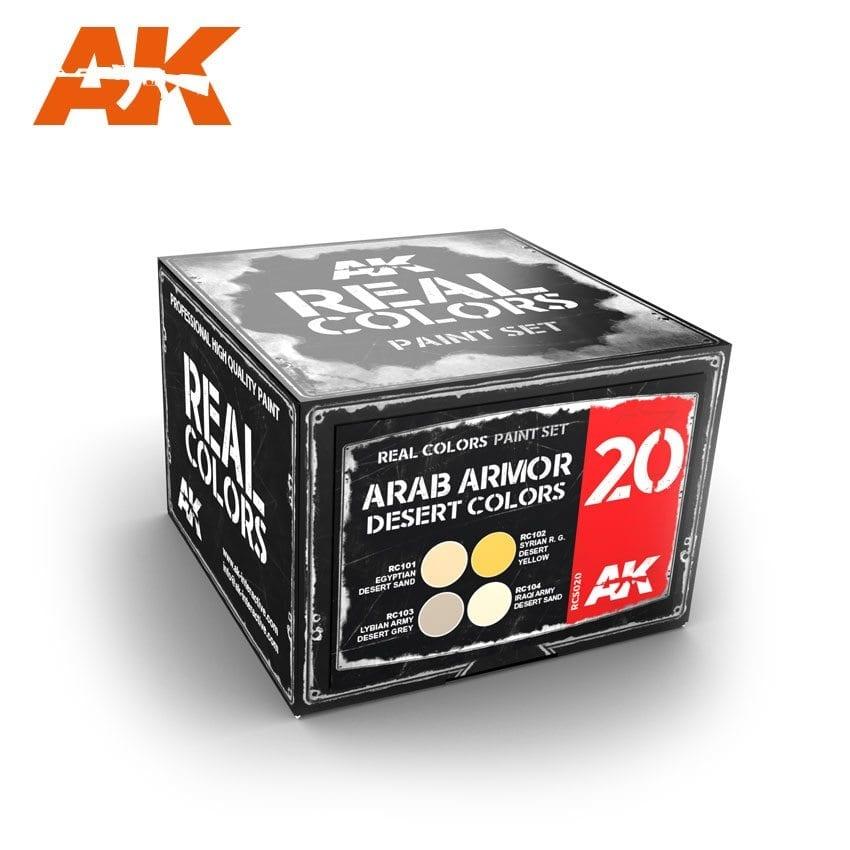 AK-Interactive Arab Armor Desert Colors Set - RCS020
