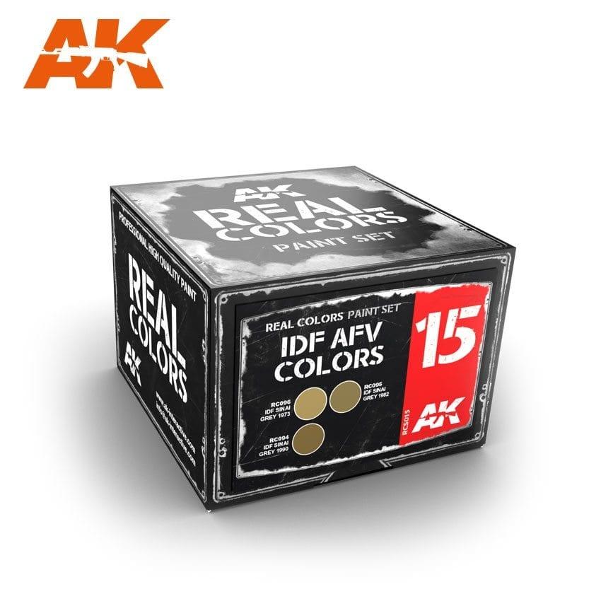 AK-Interactive Idf Afv Colors Set - RCS015