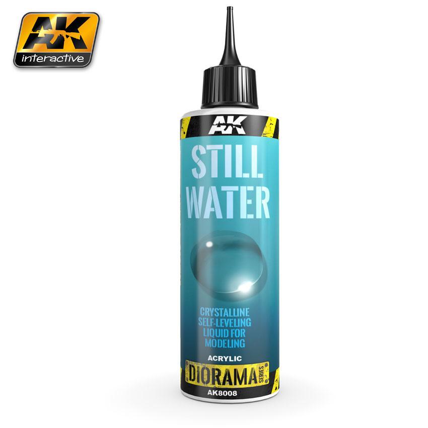 AK-Interactive Still Water - 250ml (Acrylic) - AK-8008