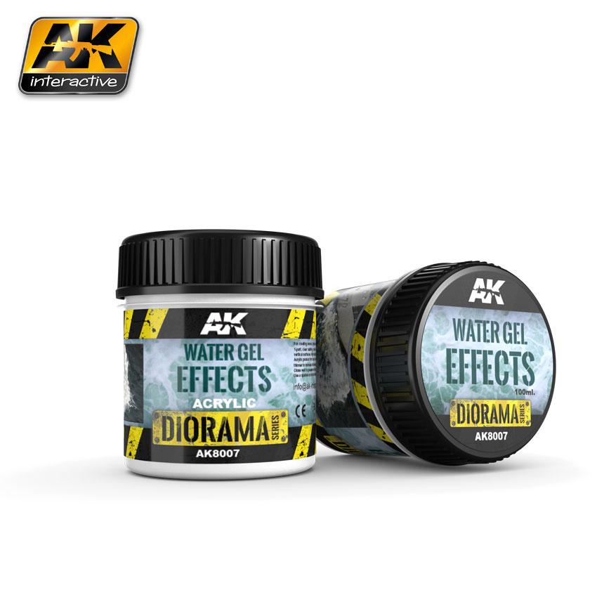 AK-Interactive Water Gel Effects - 100ml (Acrylic) - AK-8007