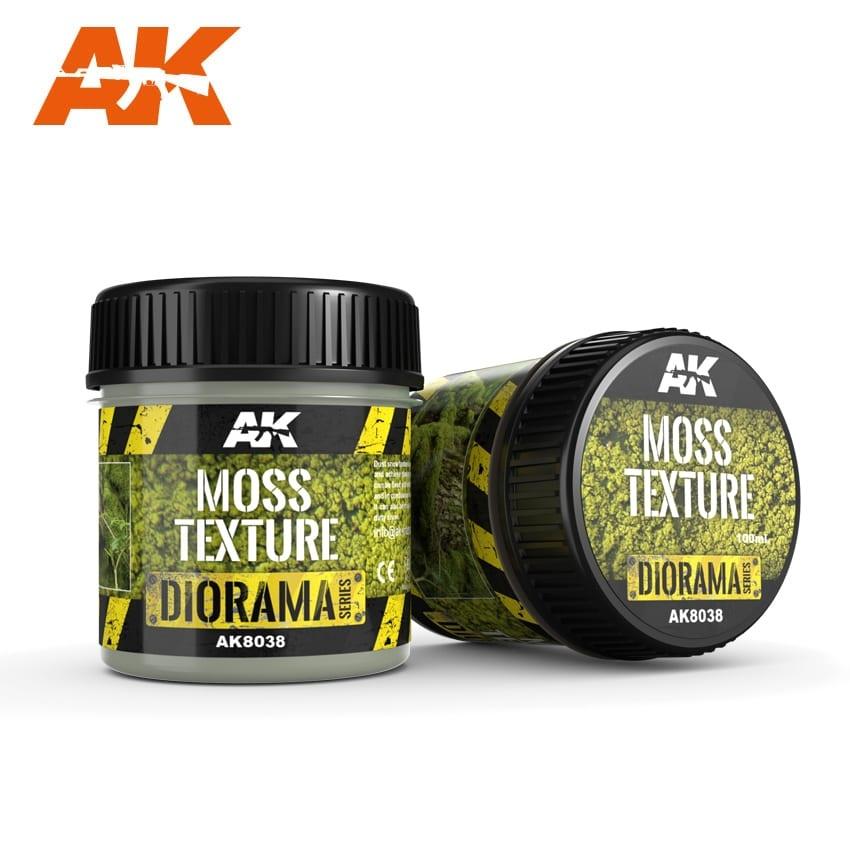 AK-Interactive Moss Texture - 100ml (Foam) - AK-8038