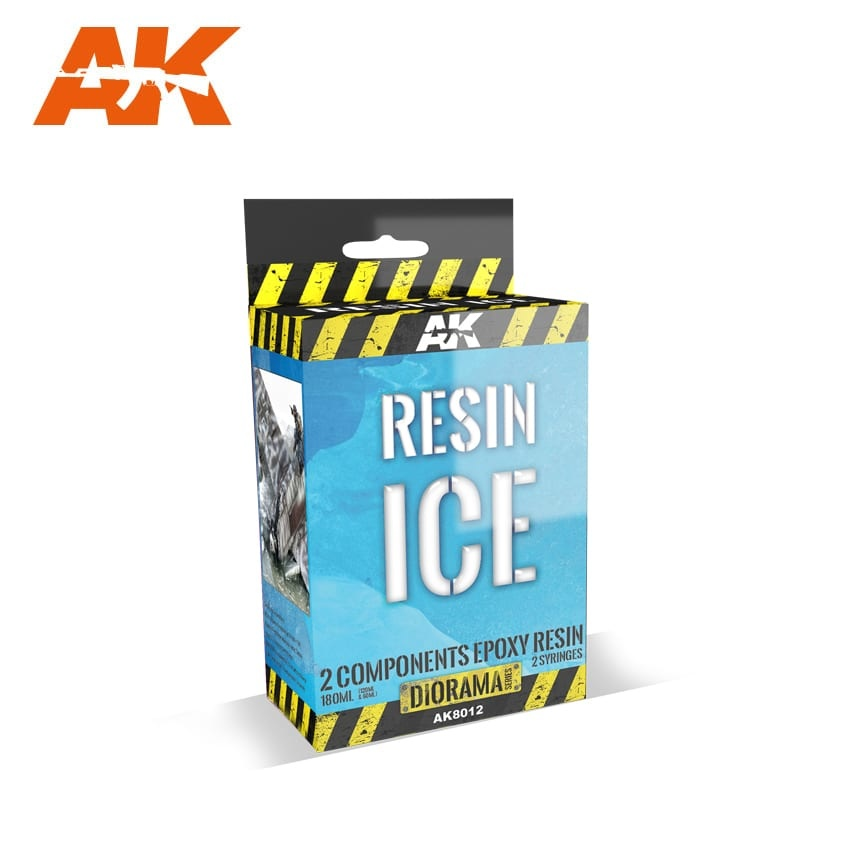 AK-Interactive Resin Ice - 2 Components - AK-8012