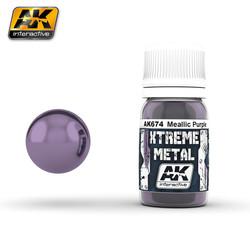 Metallic Purple - 30ml - AK-674