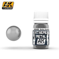 Metal Matte Aluminium - 30ml - AK-488