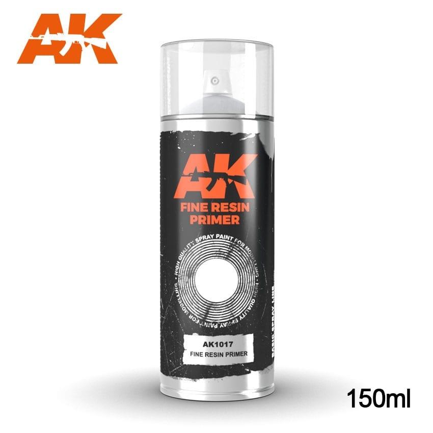 AK-Interactive Fine Resin Primer - Spray 150ml - AK-1017