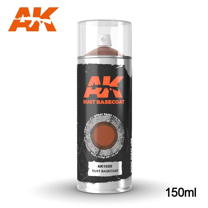 AK-Interactive Rust Basecoat - Spray 150ml - AK-1020