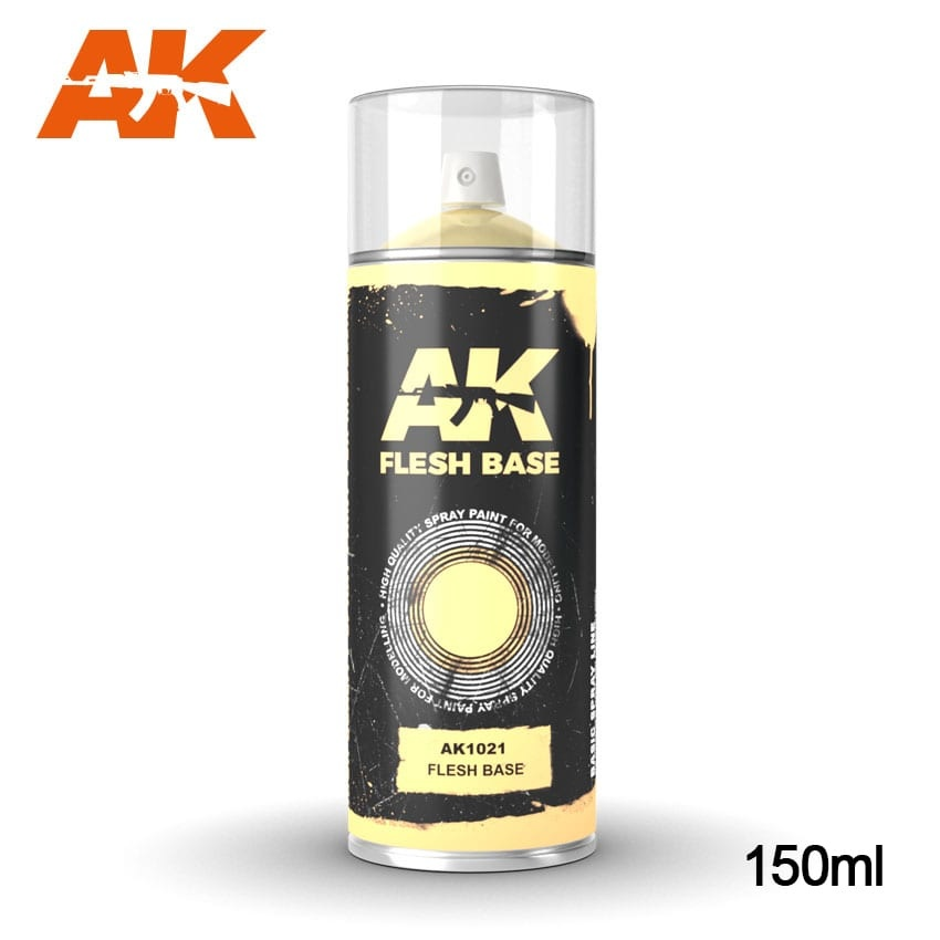 AK-Interactive Flesh Base - Spray 150ml - AK-1021