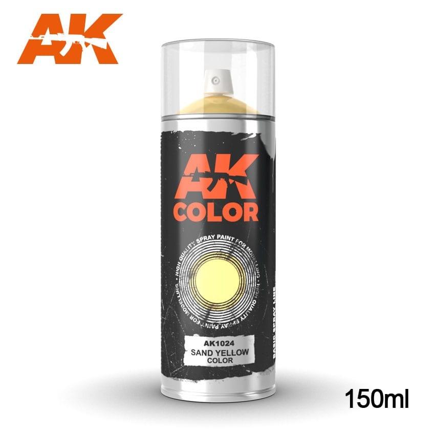 AK-Interactive Sand Yellow - Spray 150ml - AK-1024