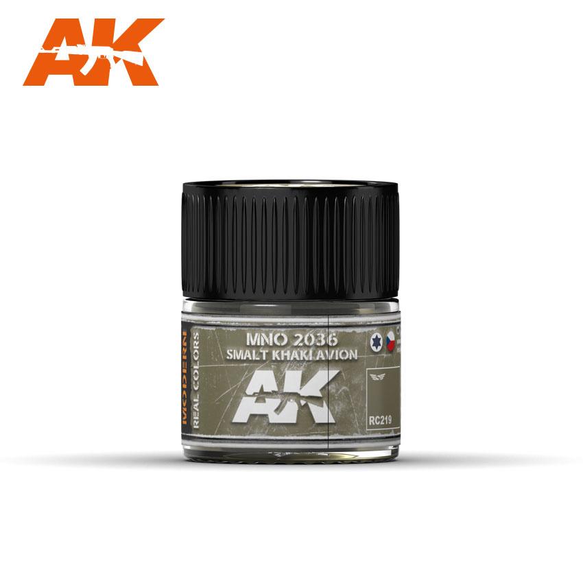 AK-Interactive MNO 2036 Smalt Khaki Avion - 10ml - RC219