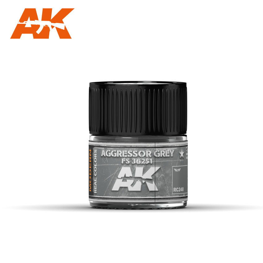 AK-Interactive Aggressor Grey Fs 36251 - 10ml - RC248